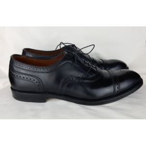Brooks Brothers 10.5 D Shoes Men's Black Wingtip